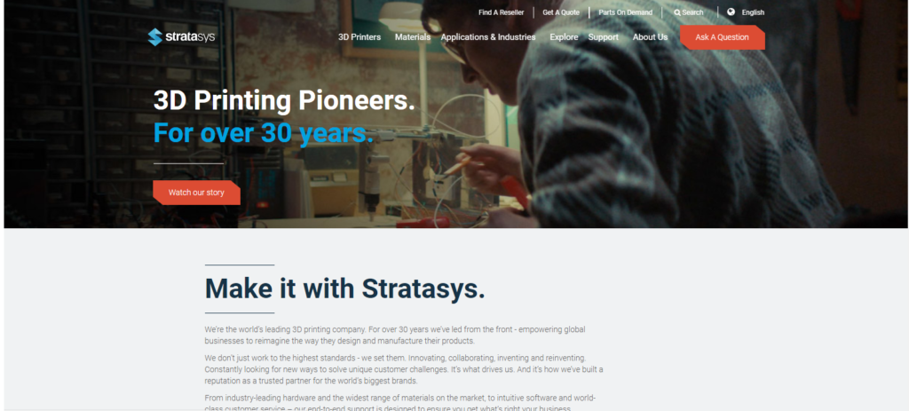 3d-printing-Indian-companies-Stratasys