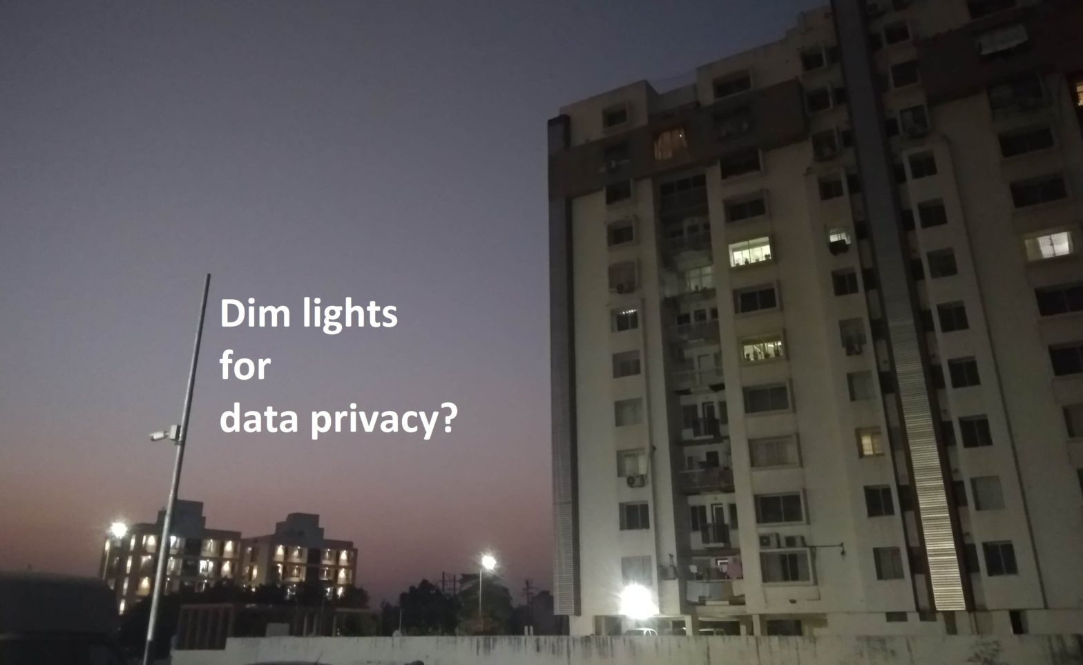 Dim future for data privacy?